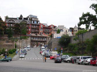 Улицами Тбилиси, Грузия