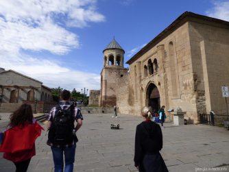 Входные ворота на территорию собора Светицховели, Мцхета, Грузия