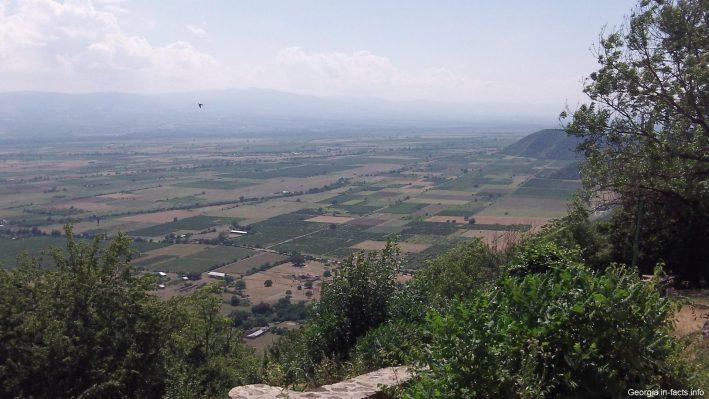 Алазанская долина в Грузии