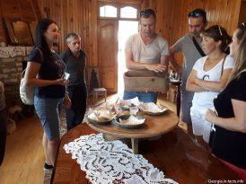 Дегустация сыров и вина в Грузии