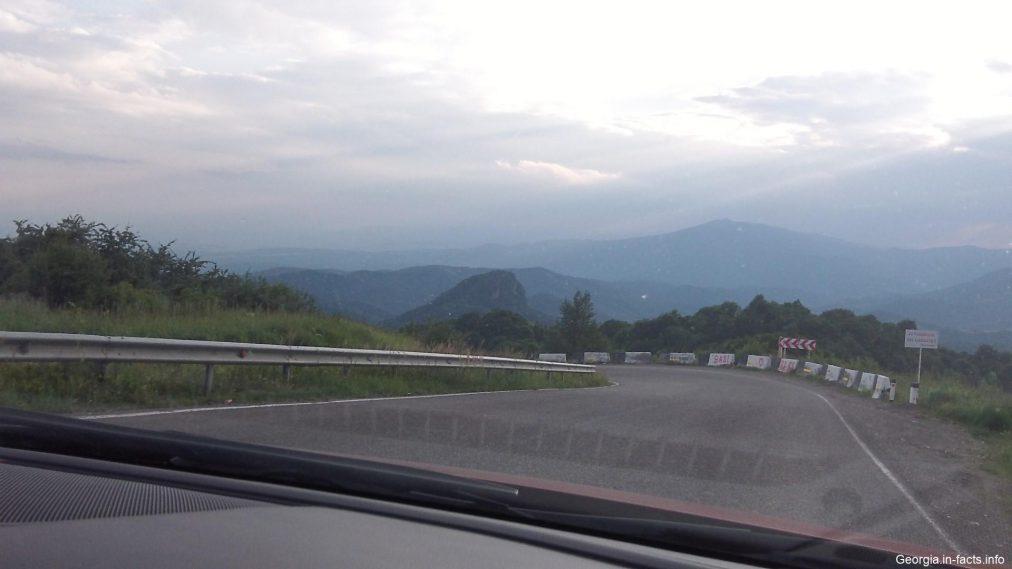 Дорога в Тбилиси