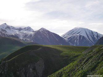 Гора Микети в Грузии