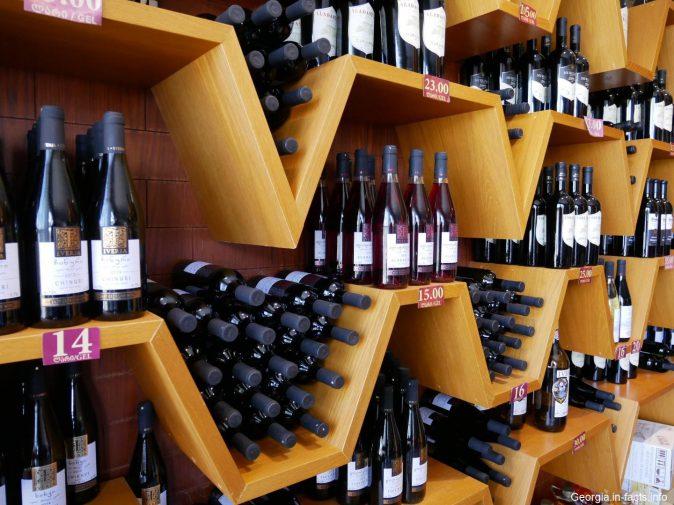 Кахетинское заводское вино