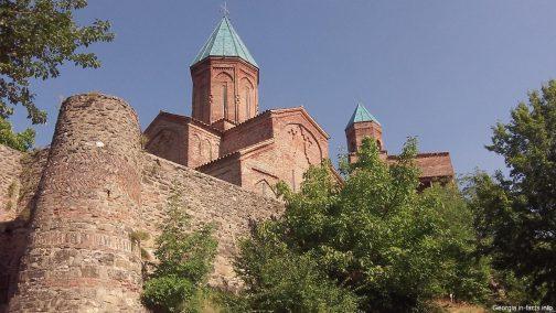 Крепость Греми в Грузии