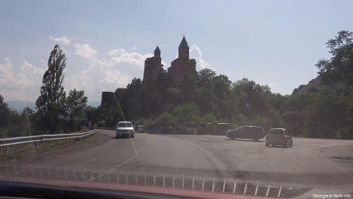 Крепость Греми в Кахетии