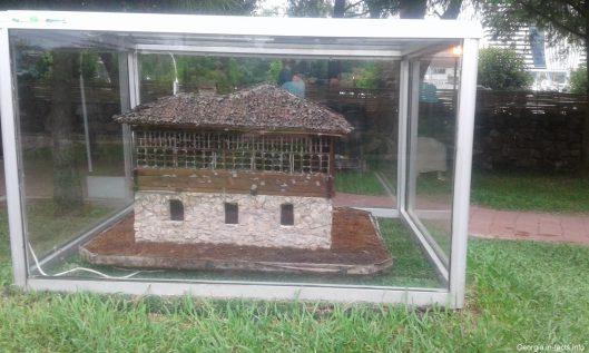 Модель грузинского дома