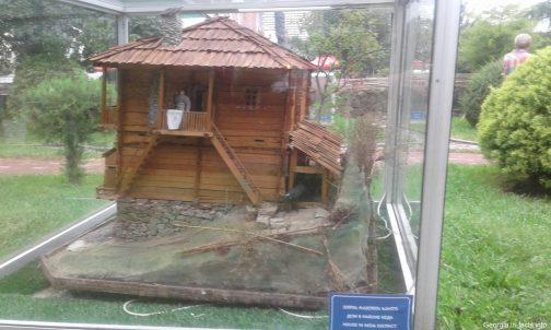 Модель традиционного грузинского дома