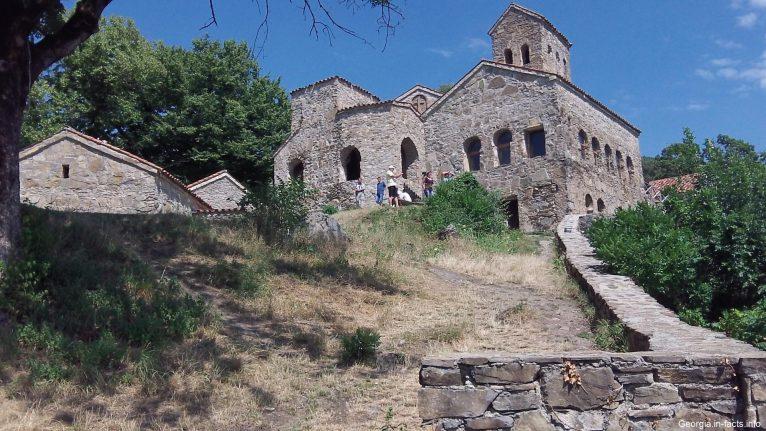Монастырь Некреси в Кахетии Грузия