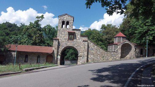 Монастырь Некреси в Кахетии вход