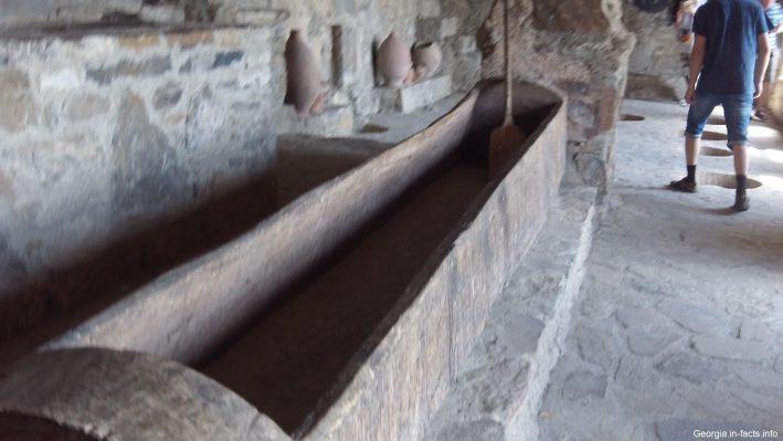 Монастырское винов в Грузии
