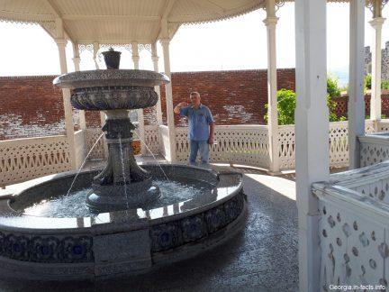 Один из фонтанов в Рабат