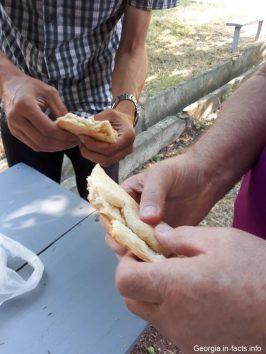 Перекус в Кахетии