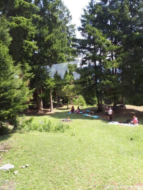 Пикник в Бакуриани