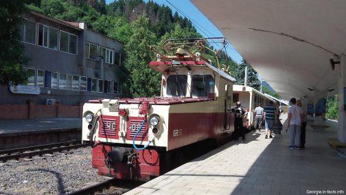 Поезд Боржоми Бакуриани