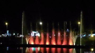 Поющие фонтаны в Грузии