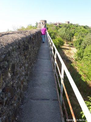 Прогулка по крепости в Кахетии