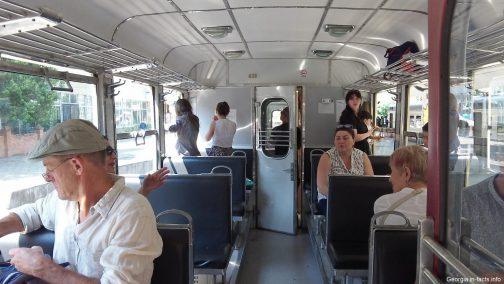 Вагон поезда Боржоми Бакуриани