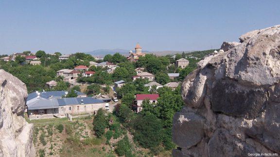 Вид на Ахалцихе с крепости