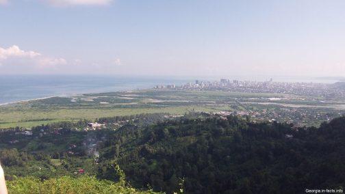 Вид на Батуми с высоты