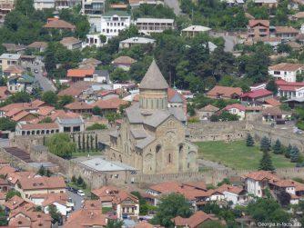 Вид на церковь Светицховели
