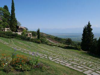 Кахетия в Грузии монастырь Бодбе