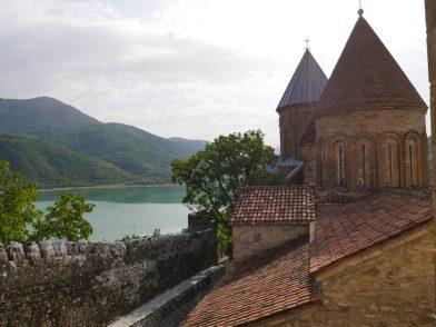 Замок Ананури из Тбилиси
